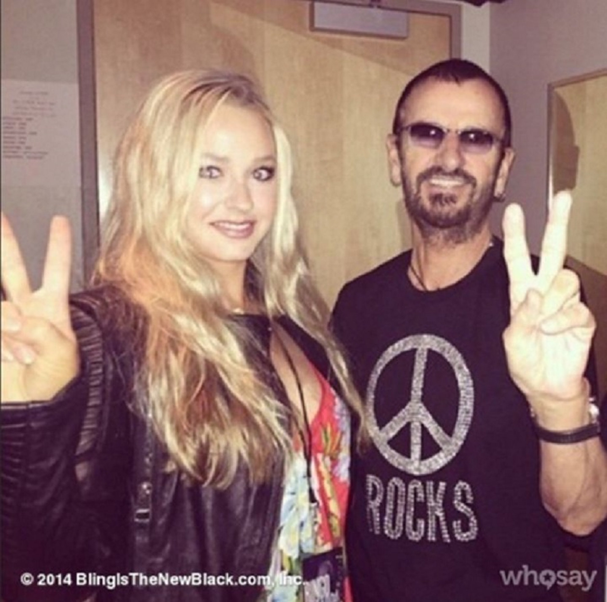 With Ringo Starr