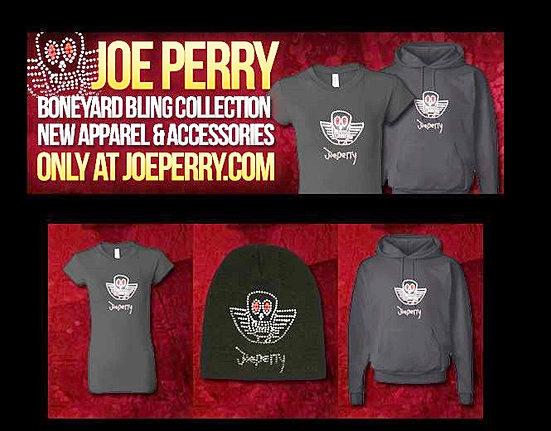 JOE PERRY BONEYARD BLING