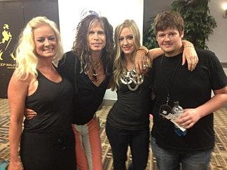 Backstage Aerosmith