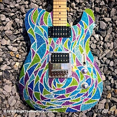 Custom Bling Guitar- Todd Rundgren