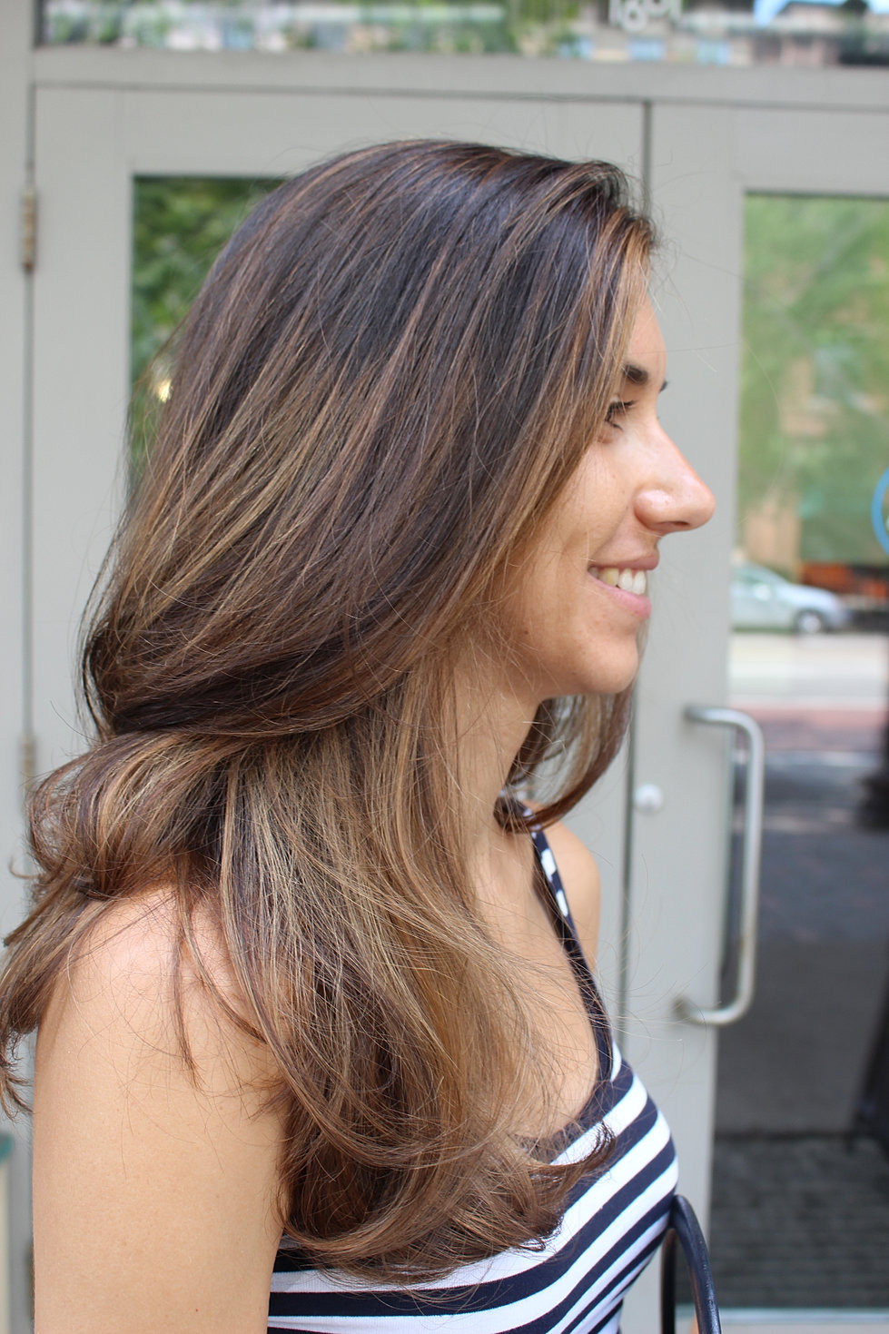 Caramel Toffee Balayage , Anita Kurl Salon Boston (South End) MA (3)
