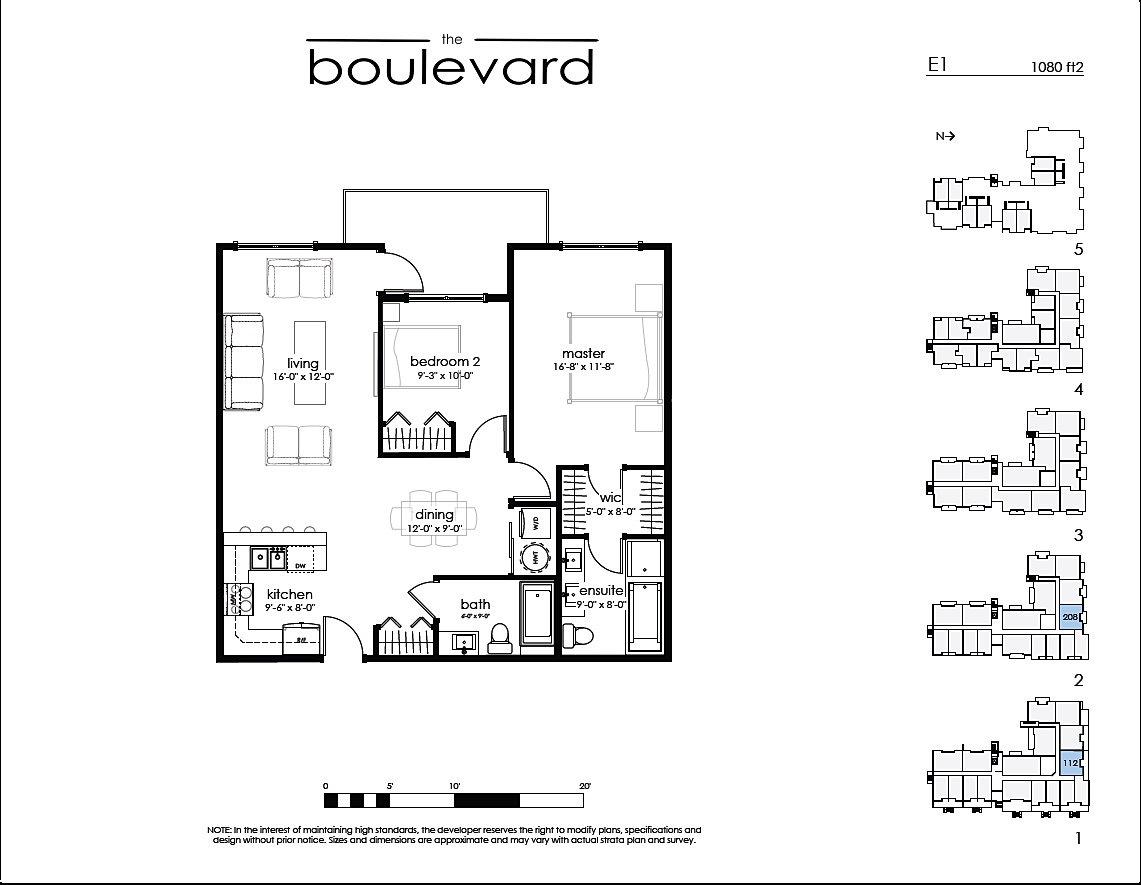 1 Victoria Floor Plans