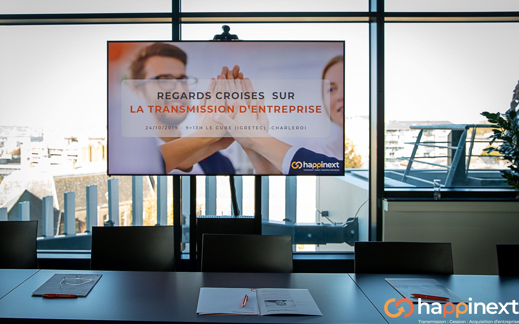 Transmission - Cession - Acquisition d'entreprise Happinext Wallonie
