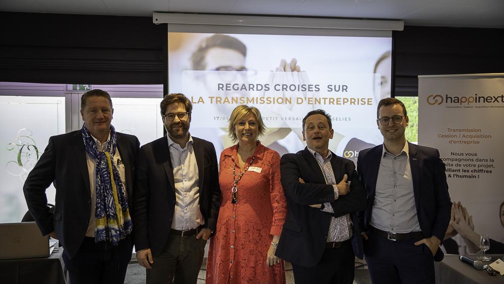 Cession - Acquisition - Transmission d'entreprise. Happinext Wallonie Hainaut