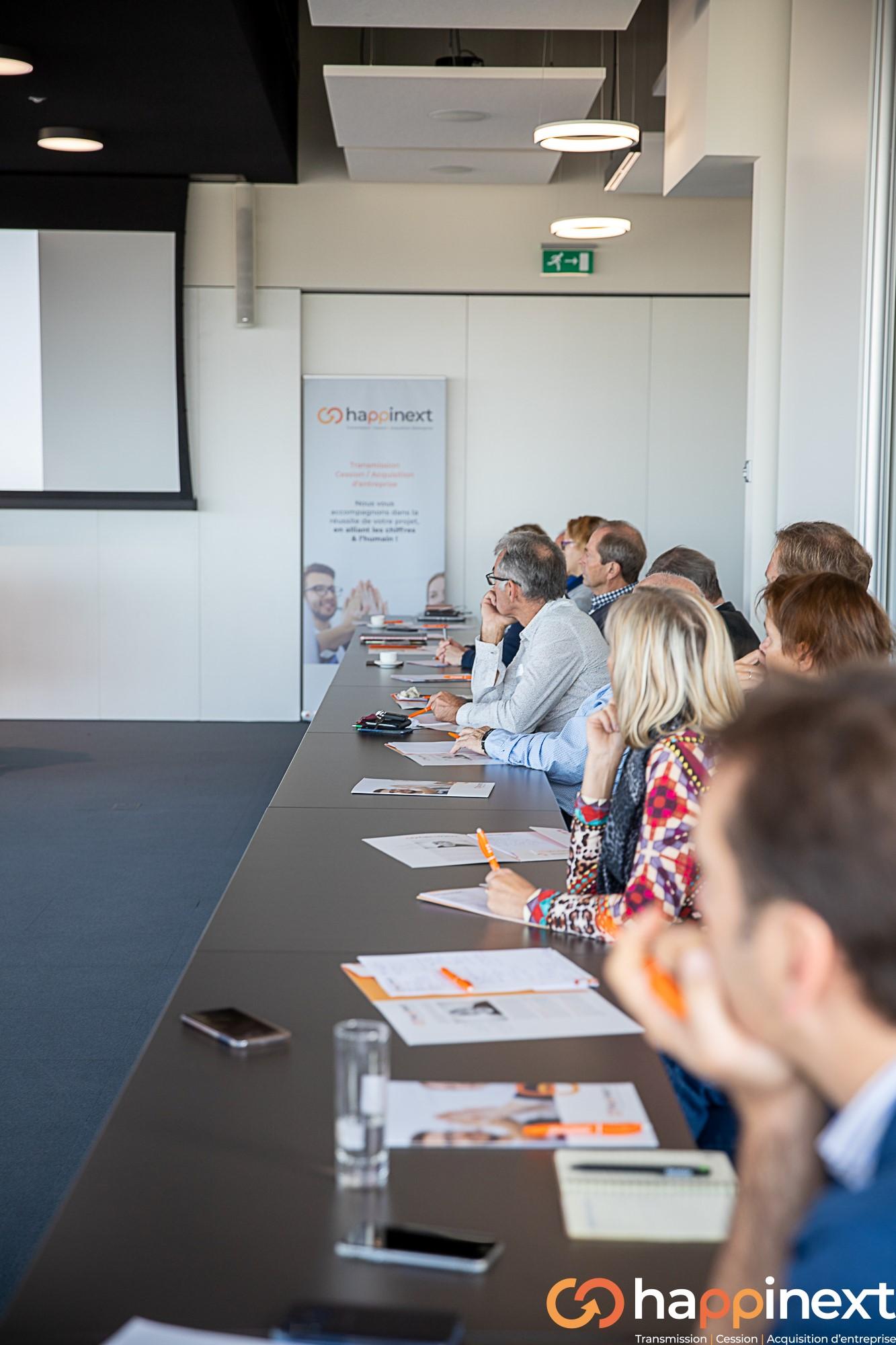 Cession et Acquisition d'entreprise Happinext Wallonie