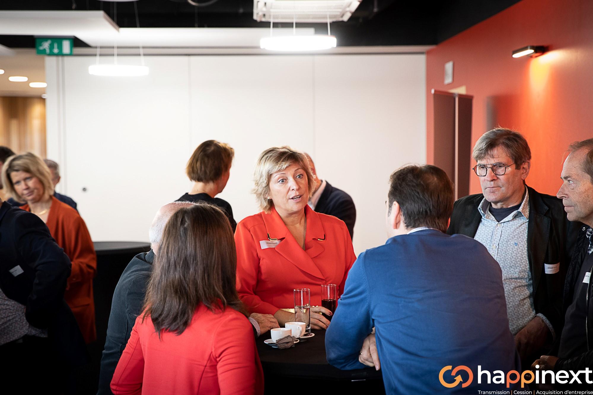 Cession et Acquisition d'entreprise Happinext Nathalie Brognaux