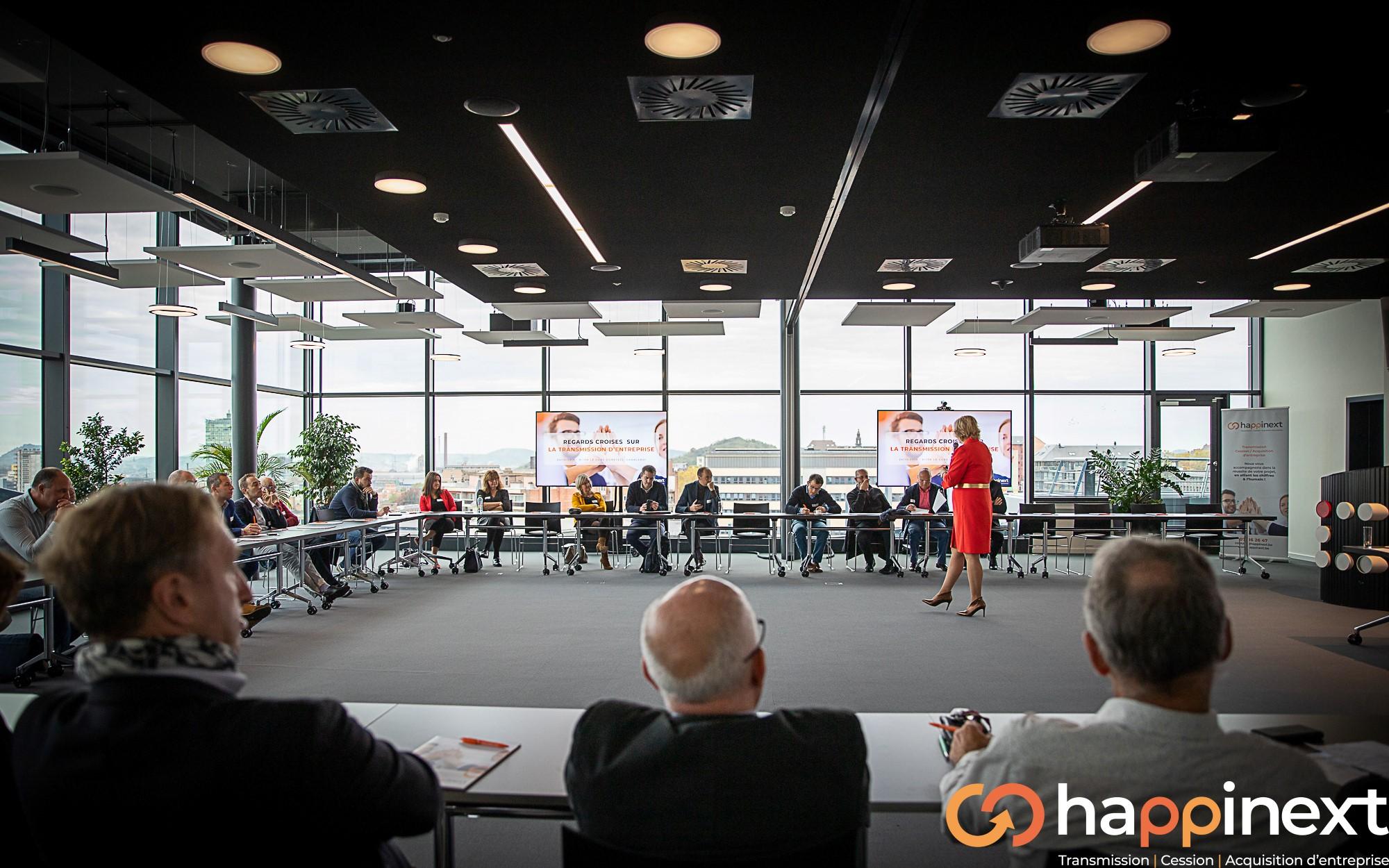 Happinext Cession et Acquisition d'entreprise Hainaut-Wallonie