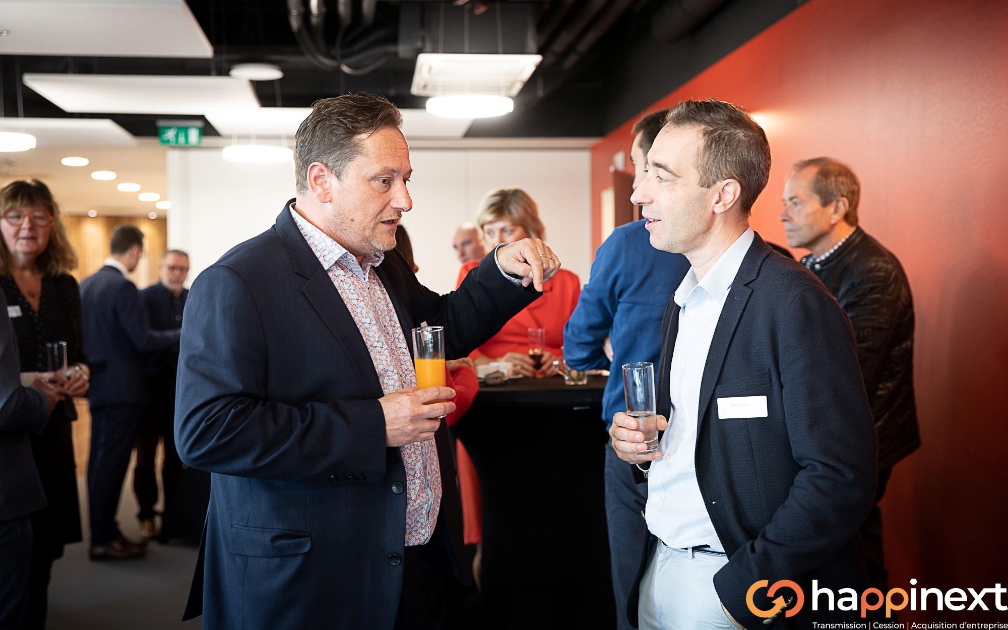 Cession et Acquisition d'entreprise Happinext Wallonie-Belgique