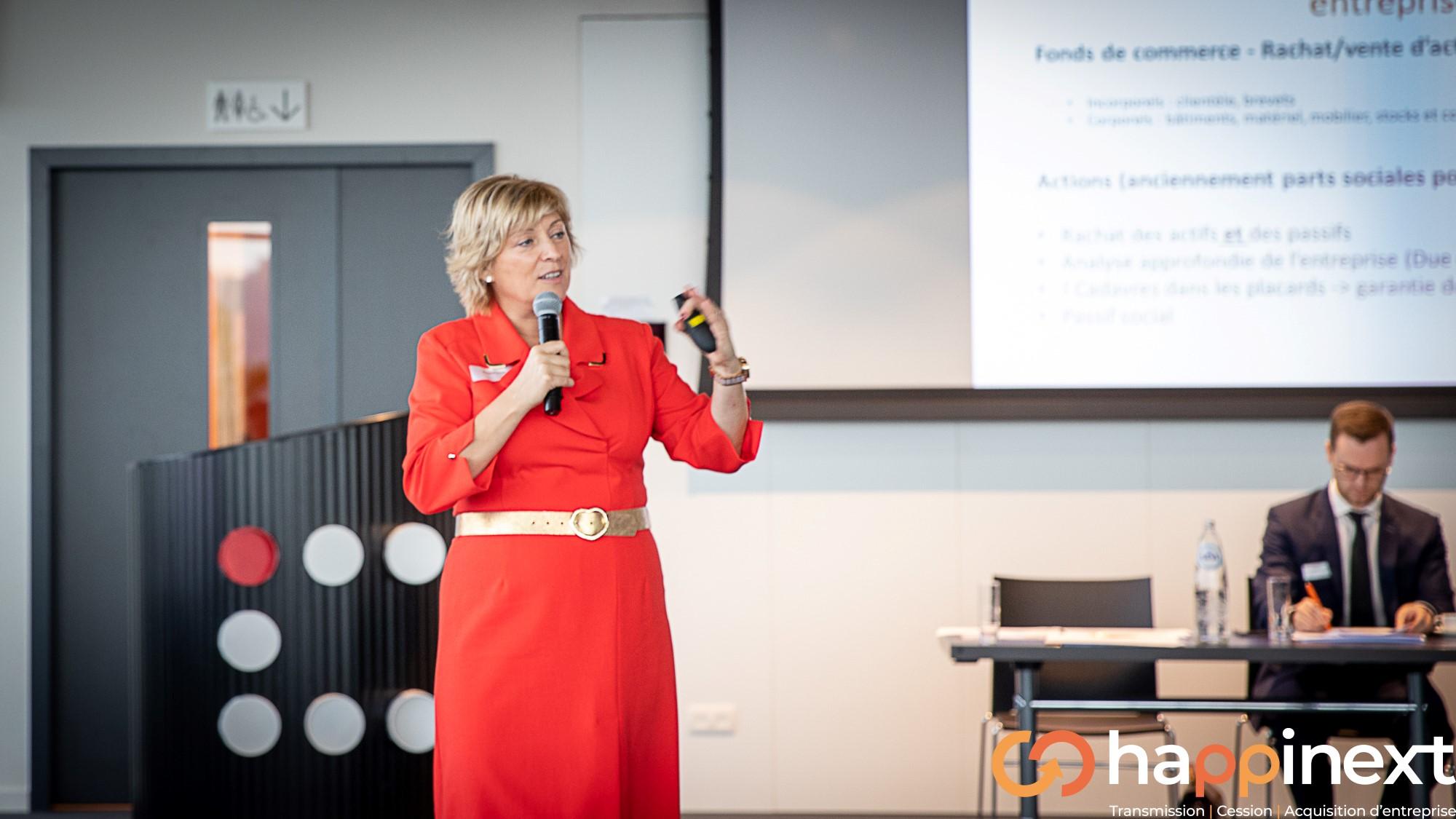 Nathalie Brognaux Happinext Transmission, Cession et Acquisition d'entreprise