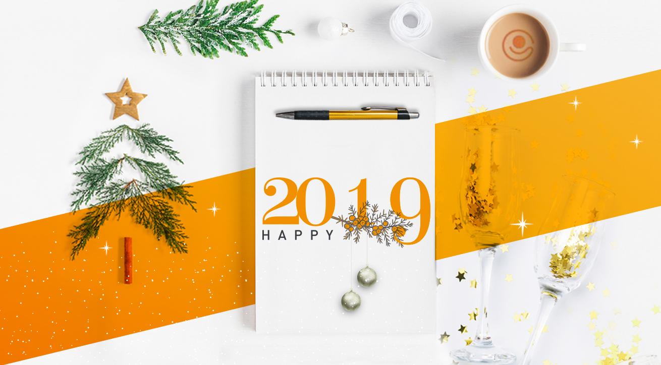 Bonne année 2019 Happinext (Happiness Management)