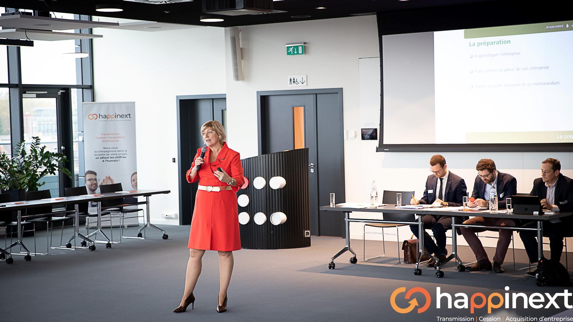 Cession, Acquisition, Transmission d'entreprise Happinext Wallonie Nathalie Brognaux