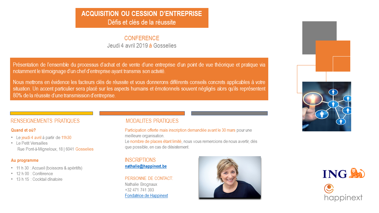 acuqisition ou cession d'entrprise : Happinext