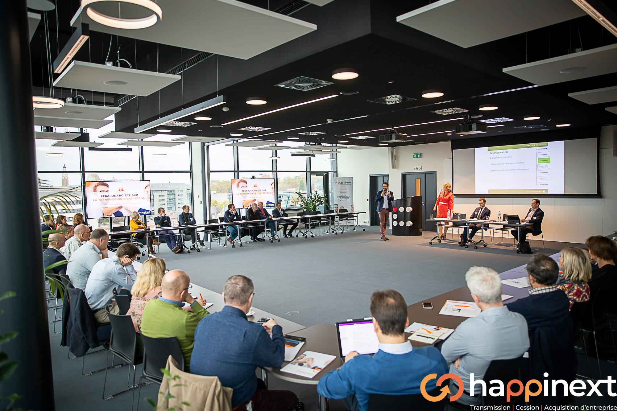 Cession & Acquisition d'entreprise Happinext Wallonie