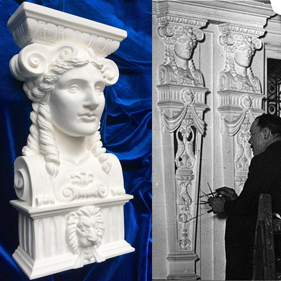 titanic-goddess-replica-and-antique-compared