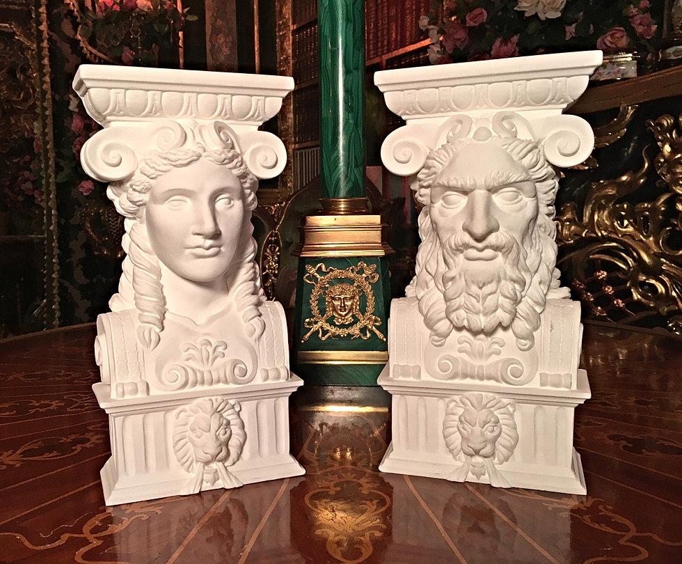 Goddess-god-heads