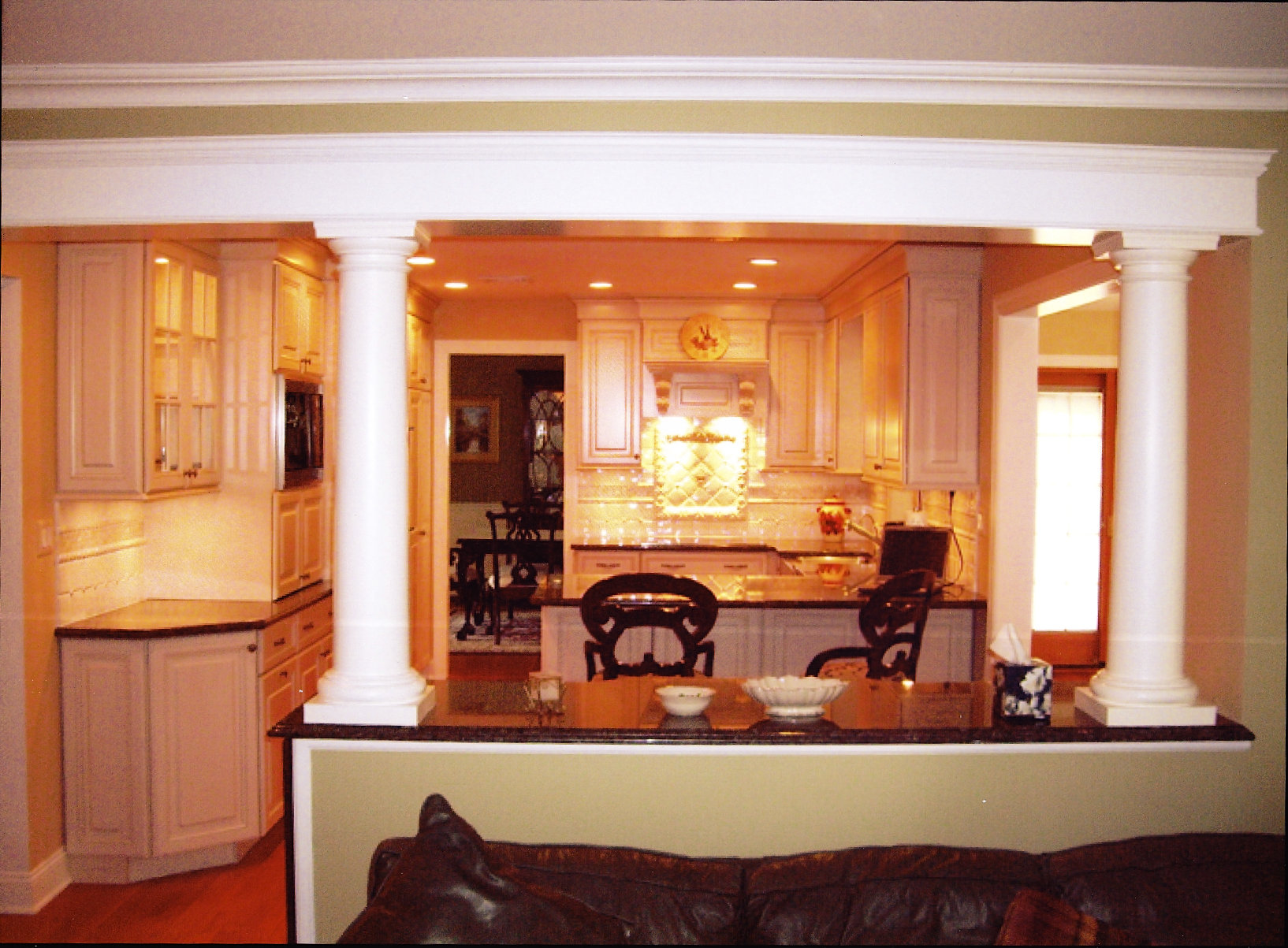Kitchen Family Room Home Improvement Contractors Joe Shadel General Contracting