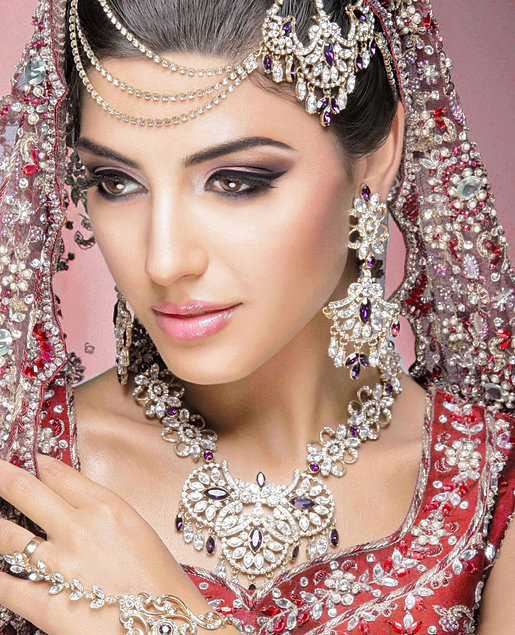 Natural Wedding Makeup Asian : Bridal Makeup Smokey Eye Brown Eyes Looks Tips 2014 Images ...