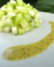 tartare concombre