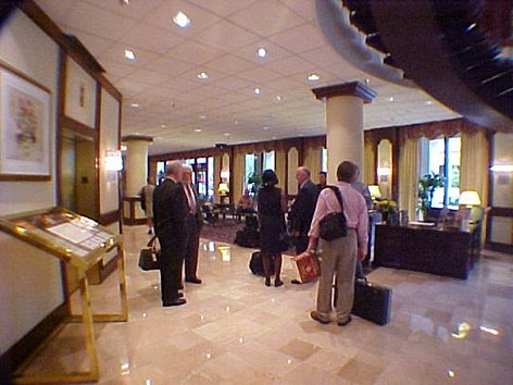 Guests arrive for NJCDLP Fall Summit