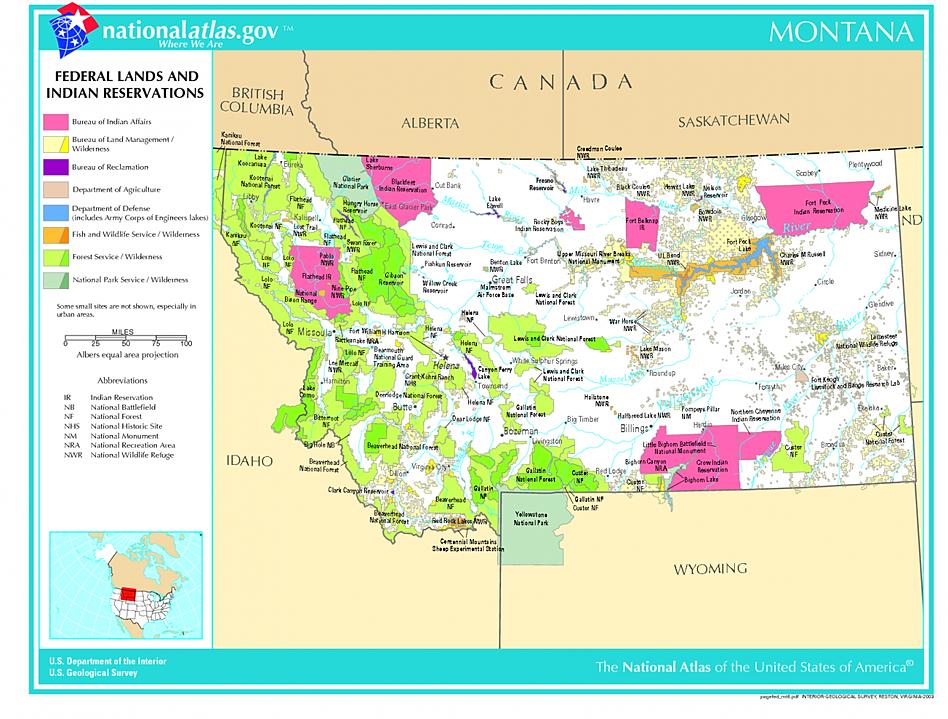 Tribal Map Of Montana Montana Retro Map Montana Territorial Map - Montana county map