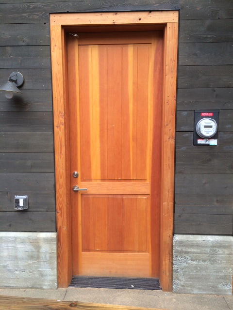 Modern millwork and design windows doors cabinets for Door design with groove
