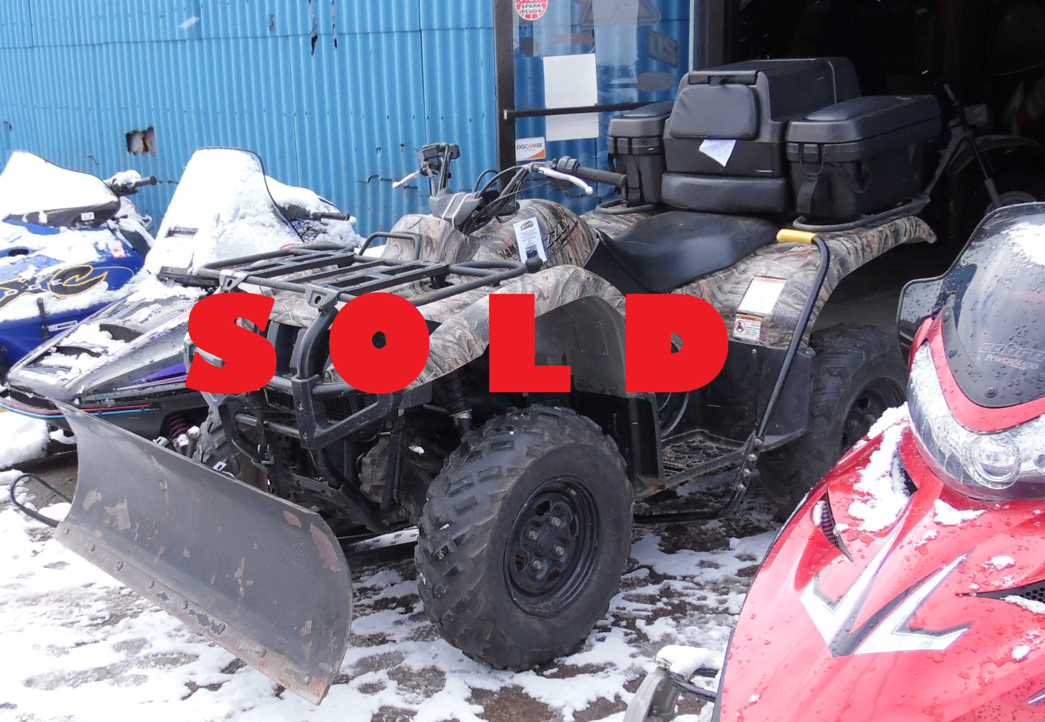 Yamaha Grizzly 660 >> 2005 Yamaha Grizzly 660 | Kneppers Repair