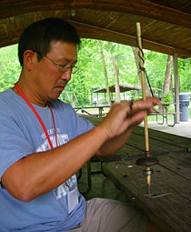 teacher workshop, Kentucky archaeology