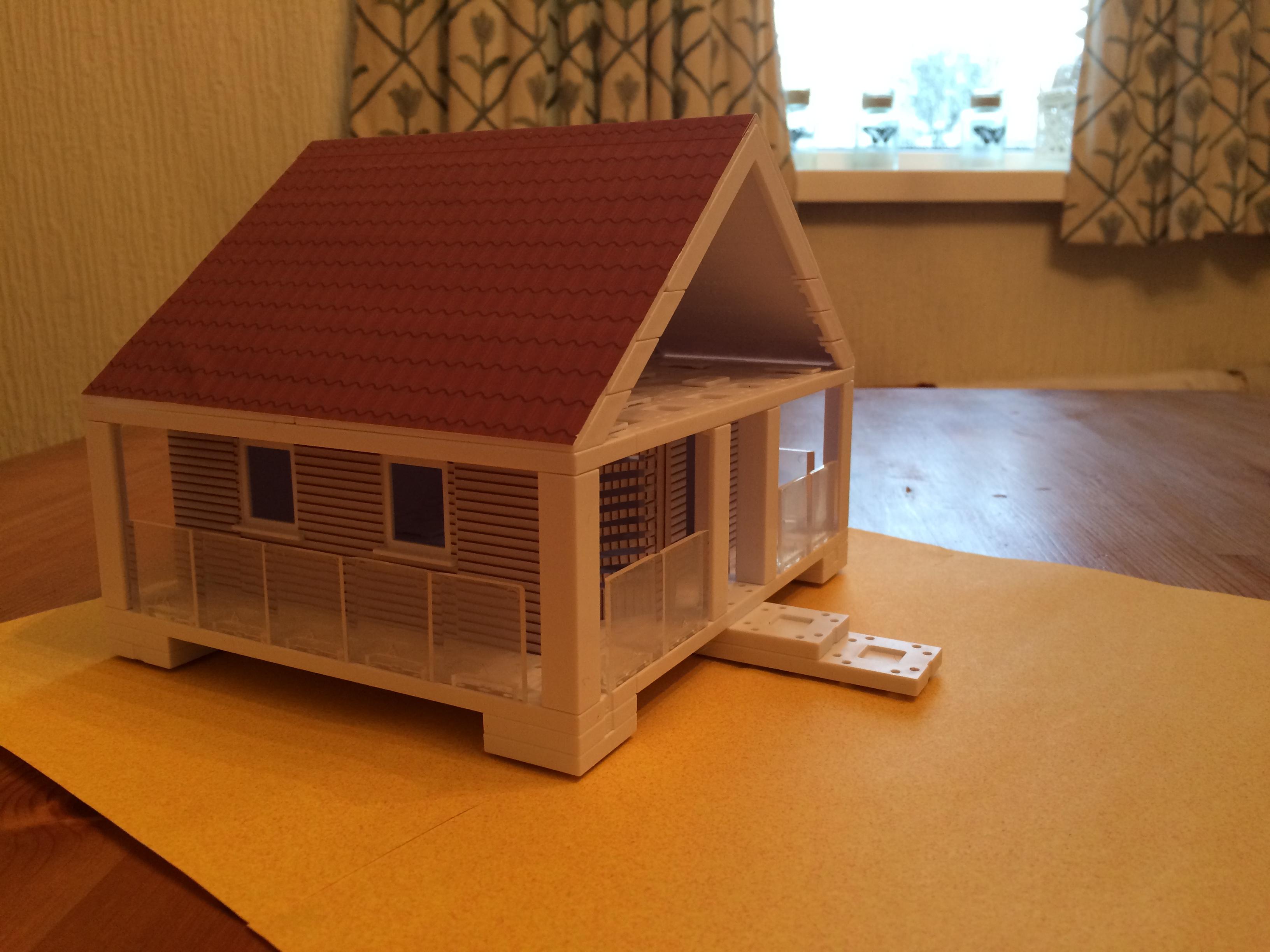 Model 13 paradise hut arckitweekly for Model beach huts