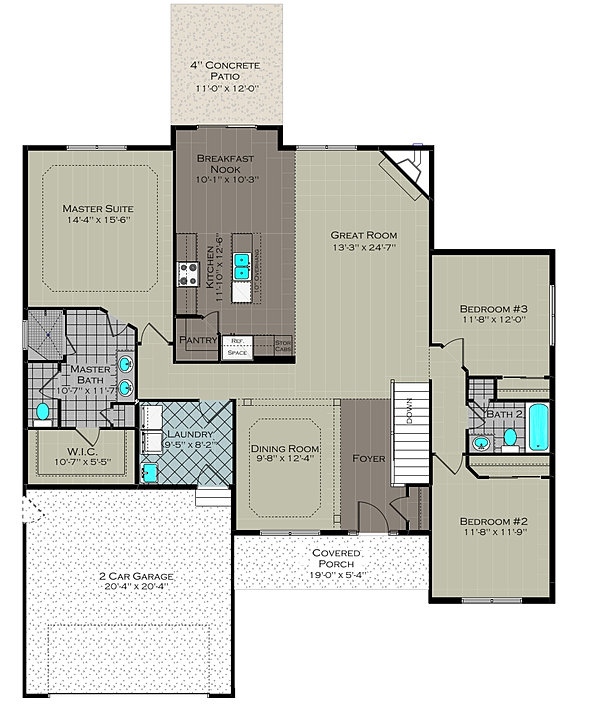 Monarch homes lifestyle homes for Monarch homes floor plans