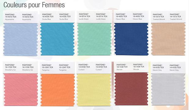 tout d 39 abord voici les couleurs pour les femmes. Black Bedroom Furniture Sets. Home Design Ideas