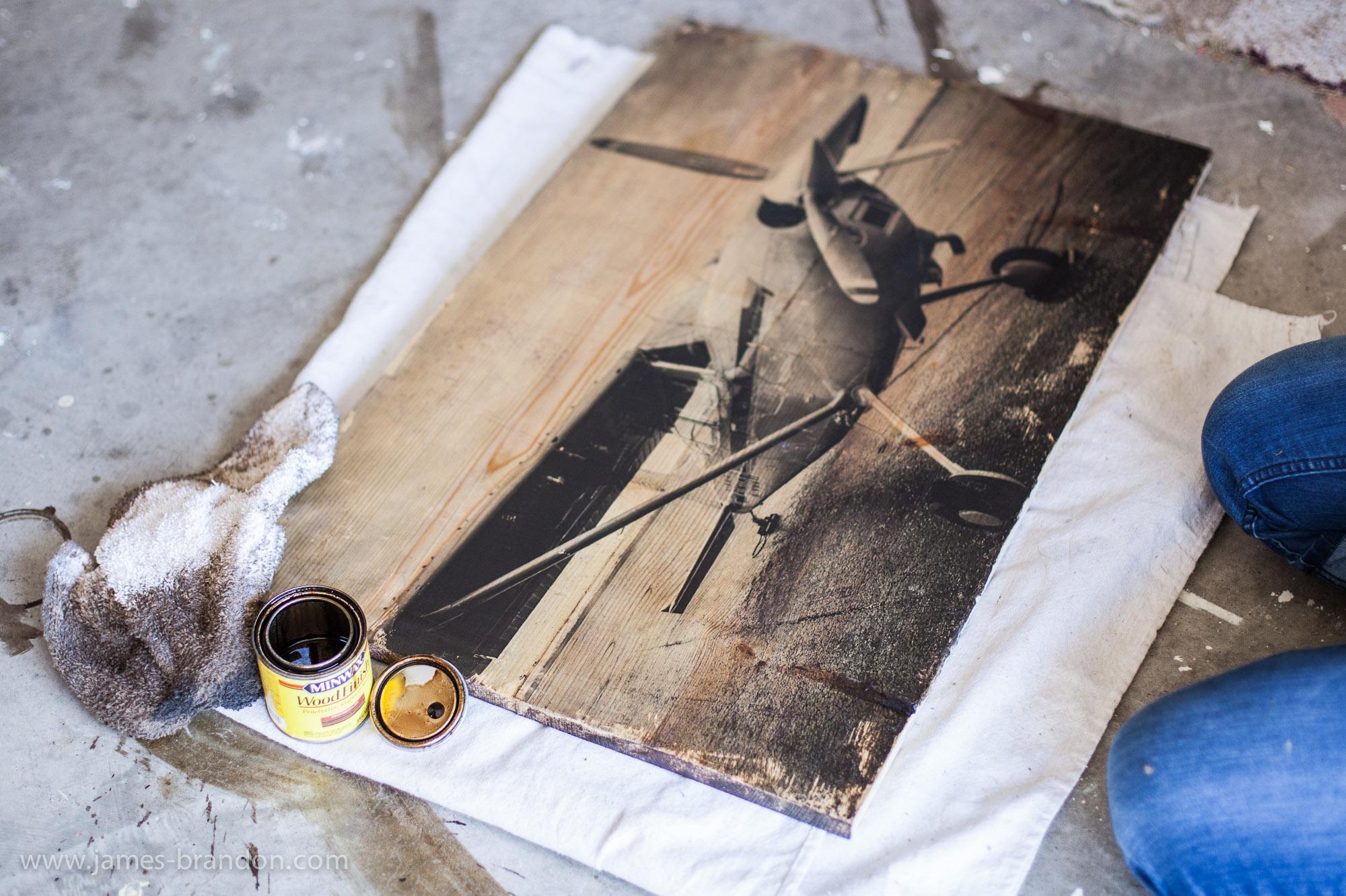 Как перенести фото метал в домашних условиях