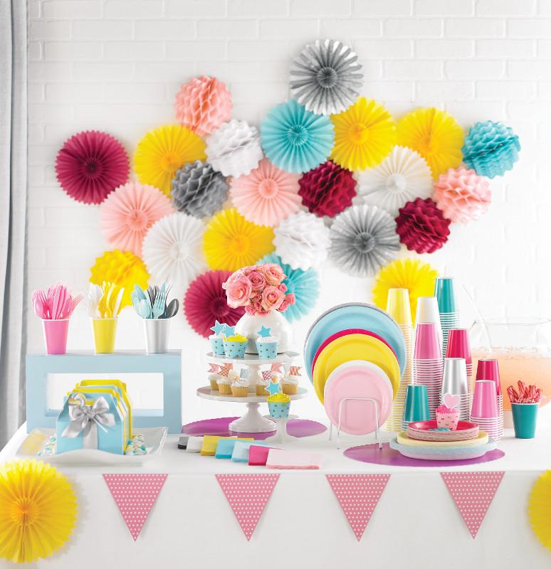 Декорации своими руками на детский день рождения