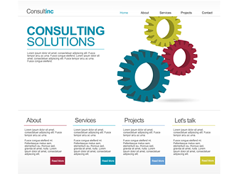 Consult Inc Template - This professional Flash website is smart, sophisticated and exudes success. Suit it to your brand, and take your business to the next level.