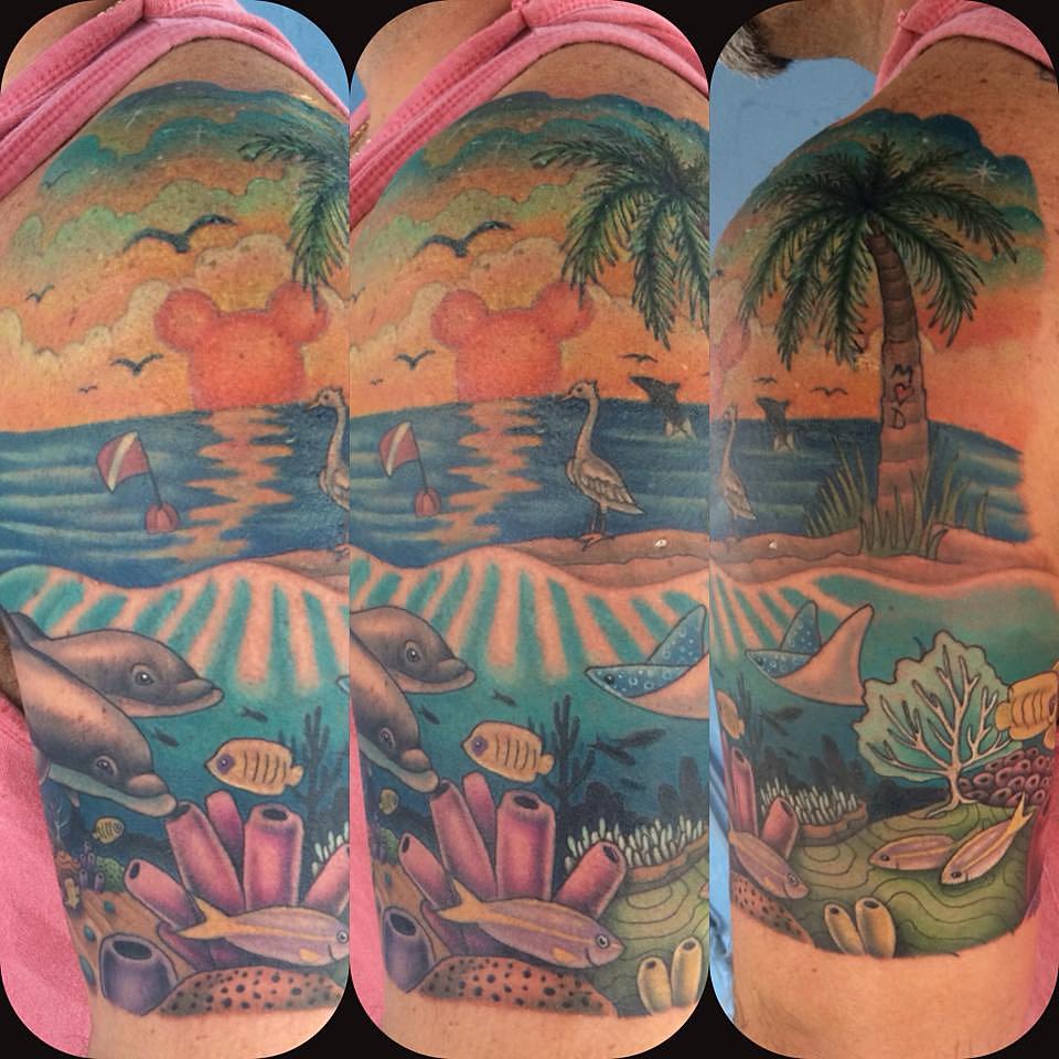 Mockingbird tattoo company tattoo sarasota 47 for Best tattoo artist in florida