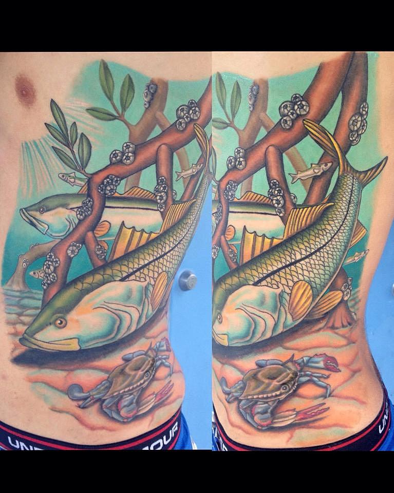 Mockingbird tattoo company tattoo sarasota 49 for Best tattoo artist in florida