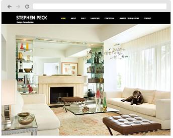 디자인 컨설턴트 스티브 백의 홈페이지