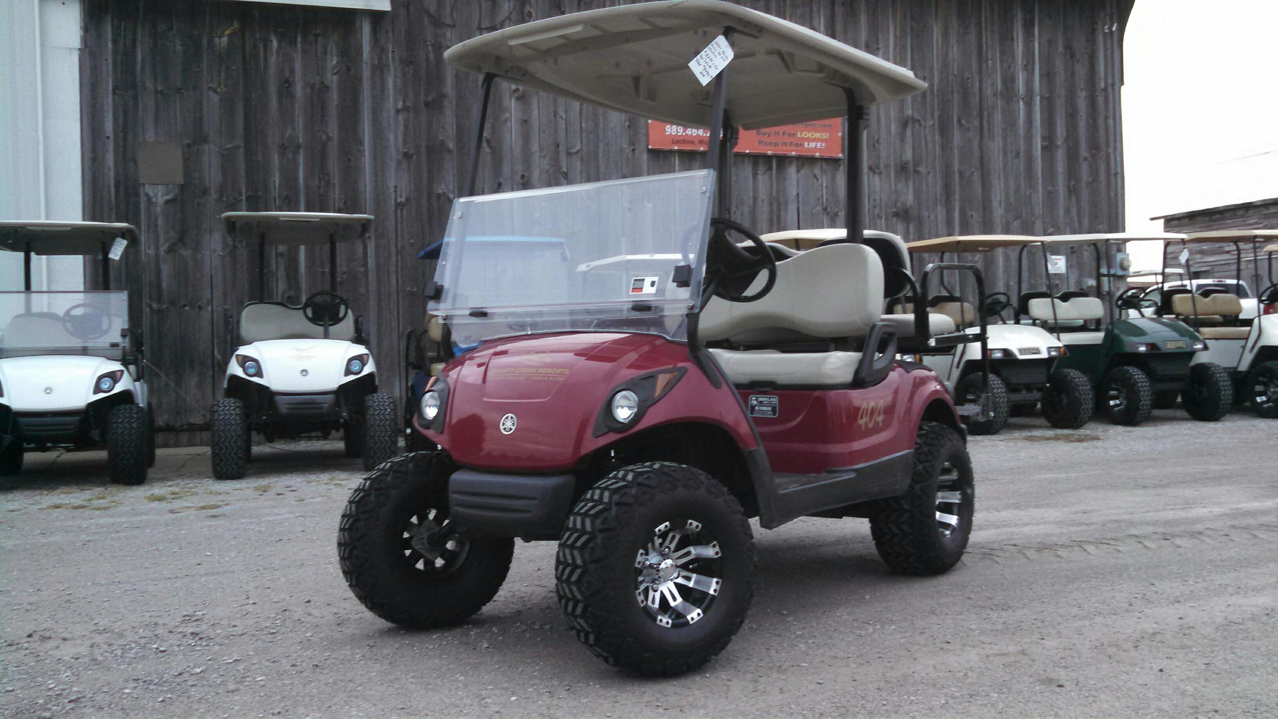 Jr Yamaha Golf Cart