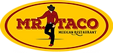 mr taco logo, best mexican restaurant in lompoc