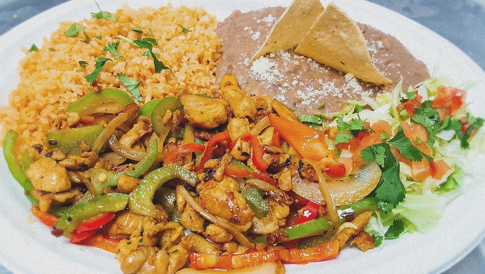 Mr. Tacos Juicy Chicken Fajita Combo