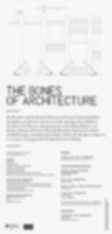 Bones of Architecture aceboxalonso