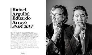 Rafael Argullol Eduardo Arroyo