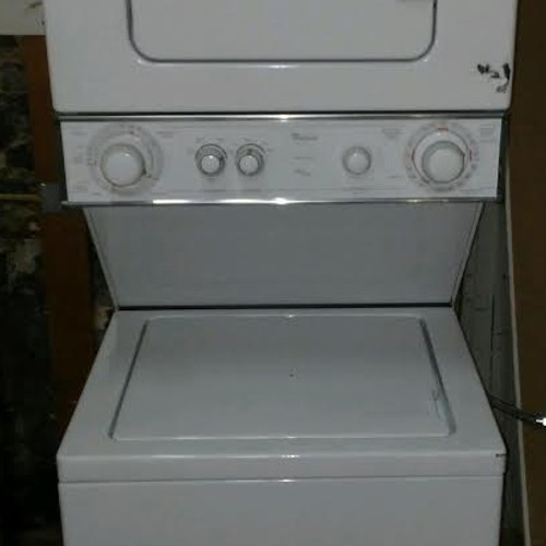 Whirlpool Apartment Size Stackable Washer And Dryer. Whirlpool ...