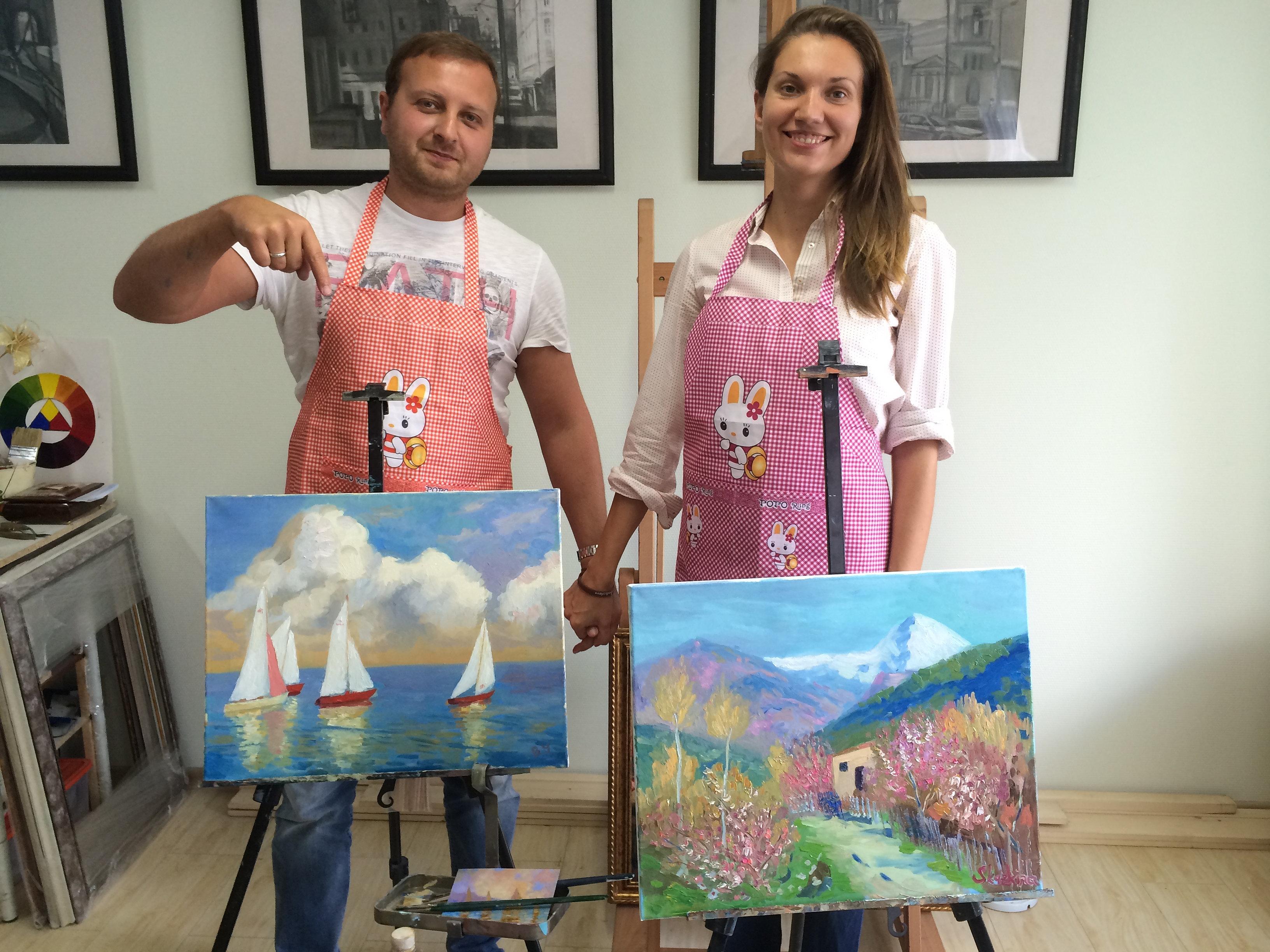 уроки рисунка и живописи:
