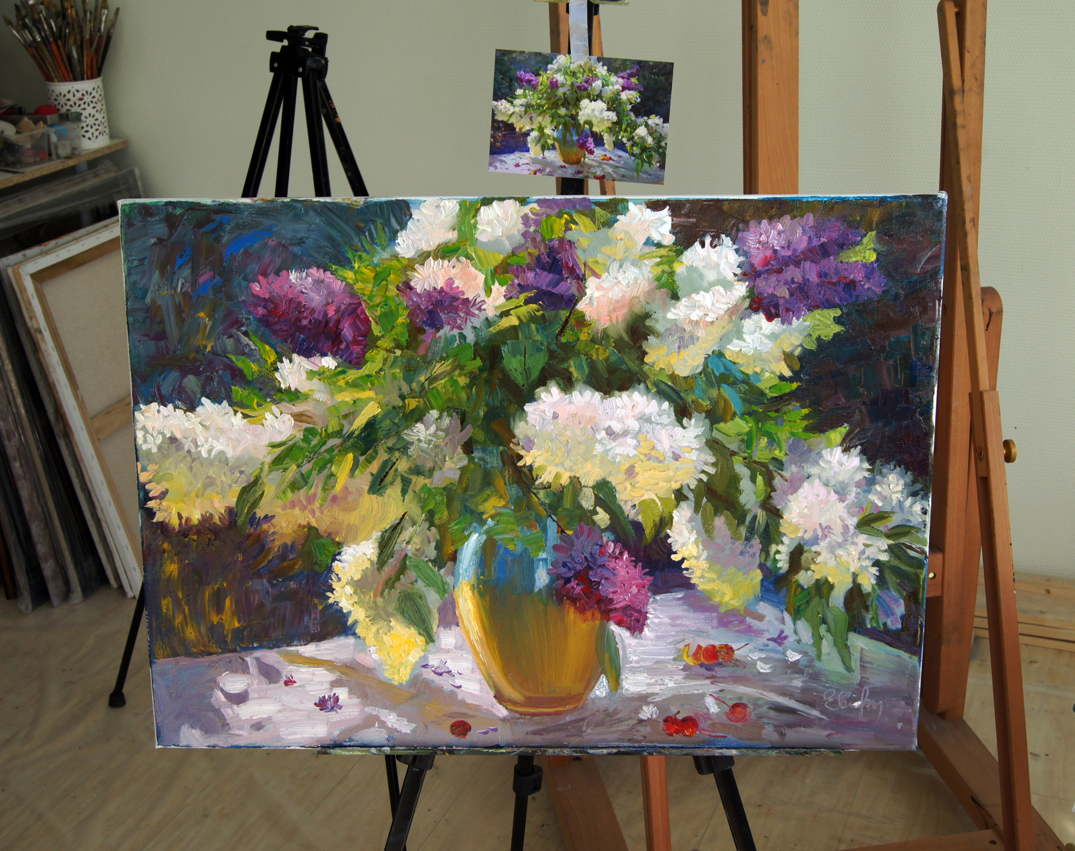 уроки живописи маслом бесплатно: