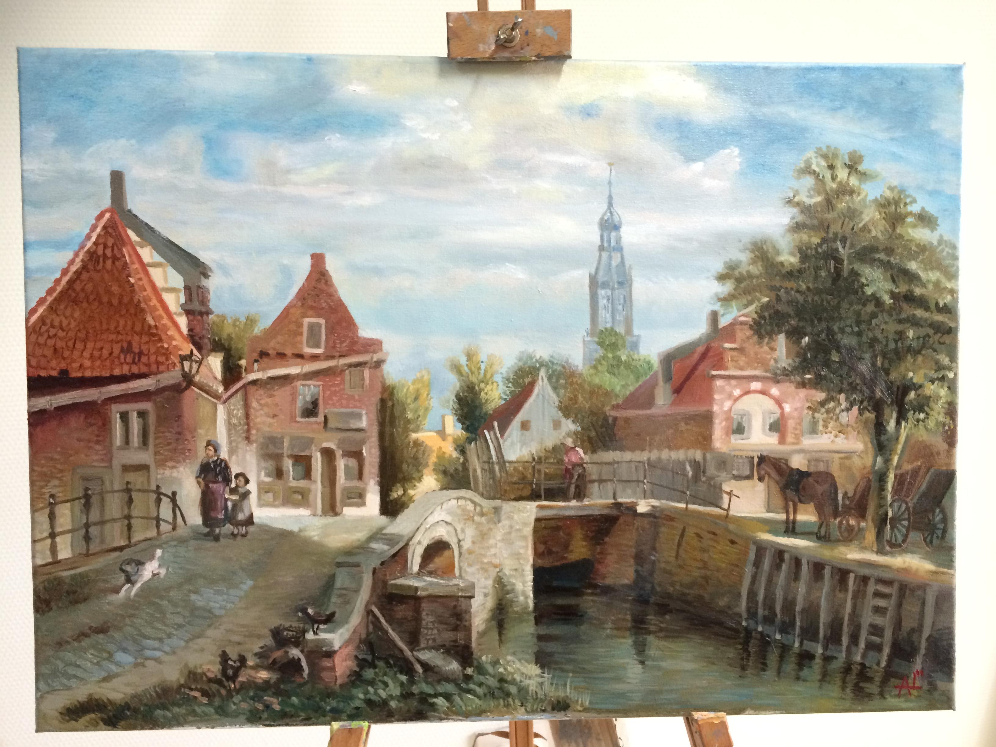 Мастер класс по живописи онлайн бесплатно