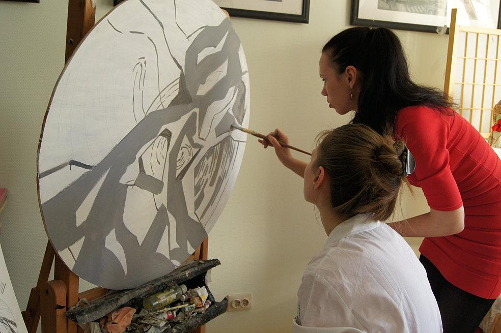 рисования современные школы для взрослых
