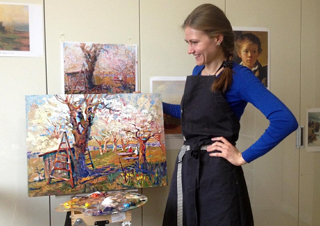 обучение живописи для взрослых: