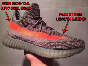 Adidas Yeezy Boost 350 V 2 GREEN BY 9611 red copper beluga size 6