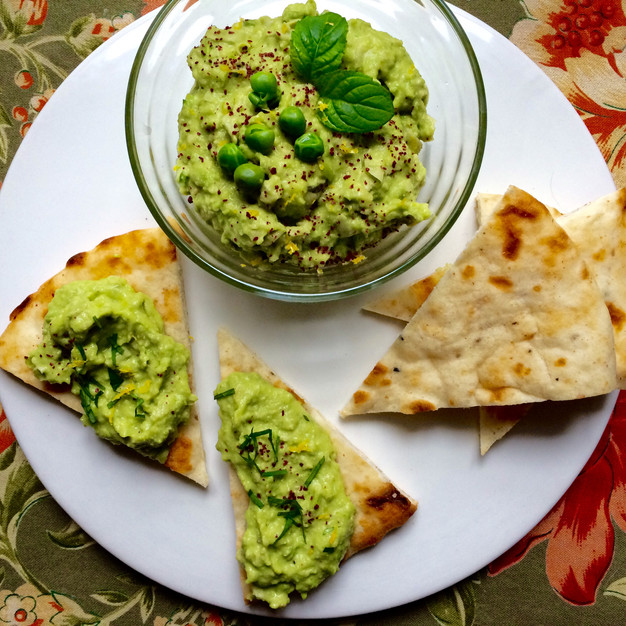 Fava Bean & Spring Pea Hummus | The Official Site for Carla Hall - Co ...