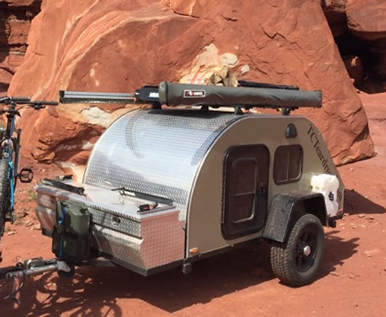 TC Teardrop Off Road Teardrop Trailer